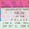 Incubus Recalls Opening Up For Sublime