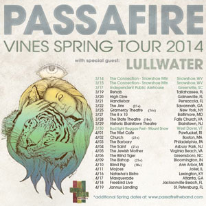 Passafire Vines Tour 2014
