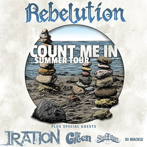 Rebeltuion Count Me In Summer Tour