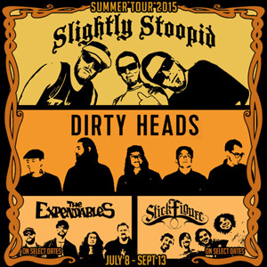summer tour 2015 slightly stoopid dirty heads the pier magazine. Black Bedroom Furniture Sets. Home Design Ideas