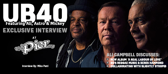 Interview: Ali Campbell of UB40 « The Pier Magazine