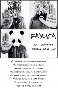Fayuca All Access Spring Tour