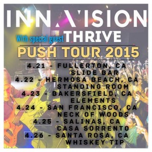 Inna Vision Push Tour