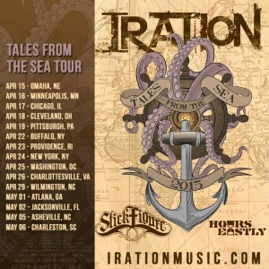 Iration Tales From The Sea Tour