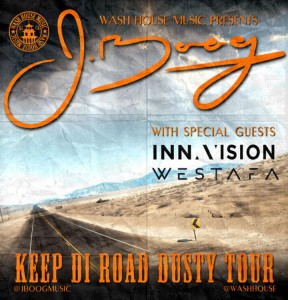 J Boog Keep Di Road Dusty Tour