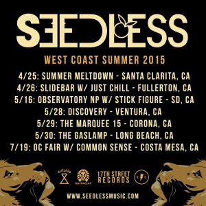 Seedless West Coast Summer Tour