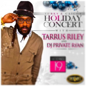 Turks and Caicos Holiday Party featuring Tarrus Riey