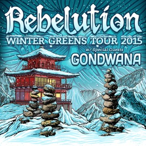 Rebelution Winter Greens Tour