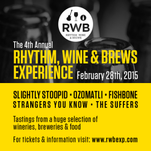 Rythm, Wine and Brews Experience