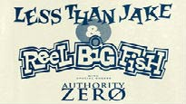 Less Than Jake with Reel Big Fish and Authority Zero