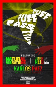 Puff Puff Pass Tour with Natty Vibes and others
