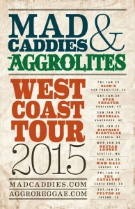 The Aggrolites and Mad Caddies West Coast Tour
