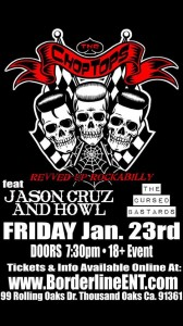 The Chop Tops Revved Up Rockabilly with Jason Cruz and Howl