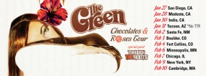 The Green Chocolates and Roses Tour
