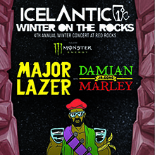 Winter on the Rocks featuring Damian Marley