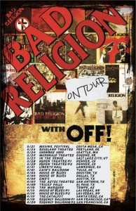 Bad Religion North American Tour