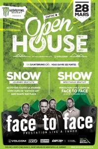 Open House featuring Face to Face