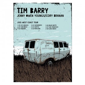 Tim Barry West Coast Tour
