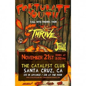 Fortunate Youth Fall with Friends Tour Friday
