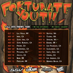 Fortunate Youth Fall with Friends Tour