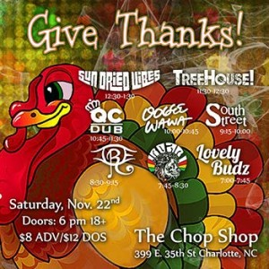 Give Thanks Fest with Sun Dried Vibes