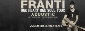 Michael Franti One Heart One Soul Acoustic Tour