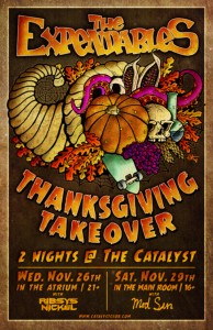 Thanksgiving Takeover The Expendables
