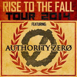 Authority Zero Rise to the Fall Tour