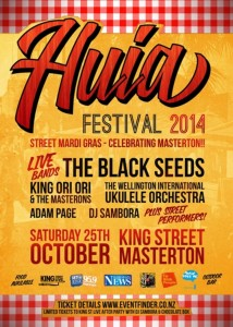 Huia Festival with The Black Seeds