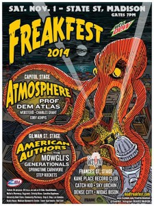 Freakfest with Atmosphere