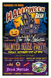 Halloween Bash with The Hip Abduction