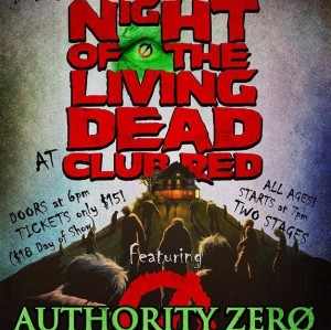 Night of the Living Dead with Authority Zero
