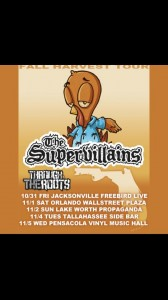 The Supervillains Fall Harvest Tour